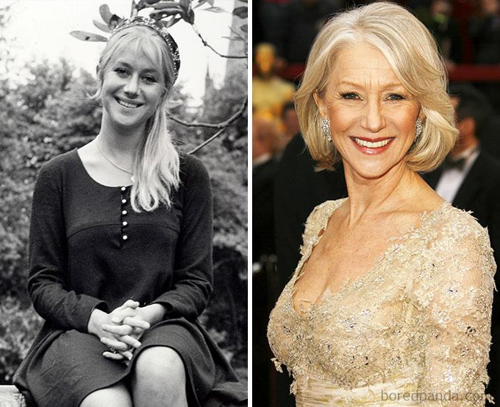 Хелен Миррен работала промоутером в парке развлечений в британском городе Саутенд-он-Си.