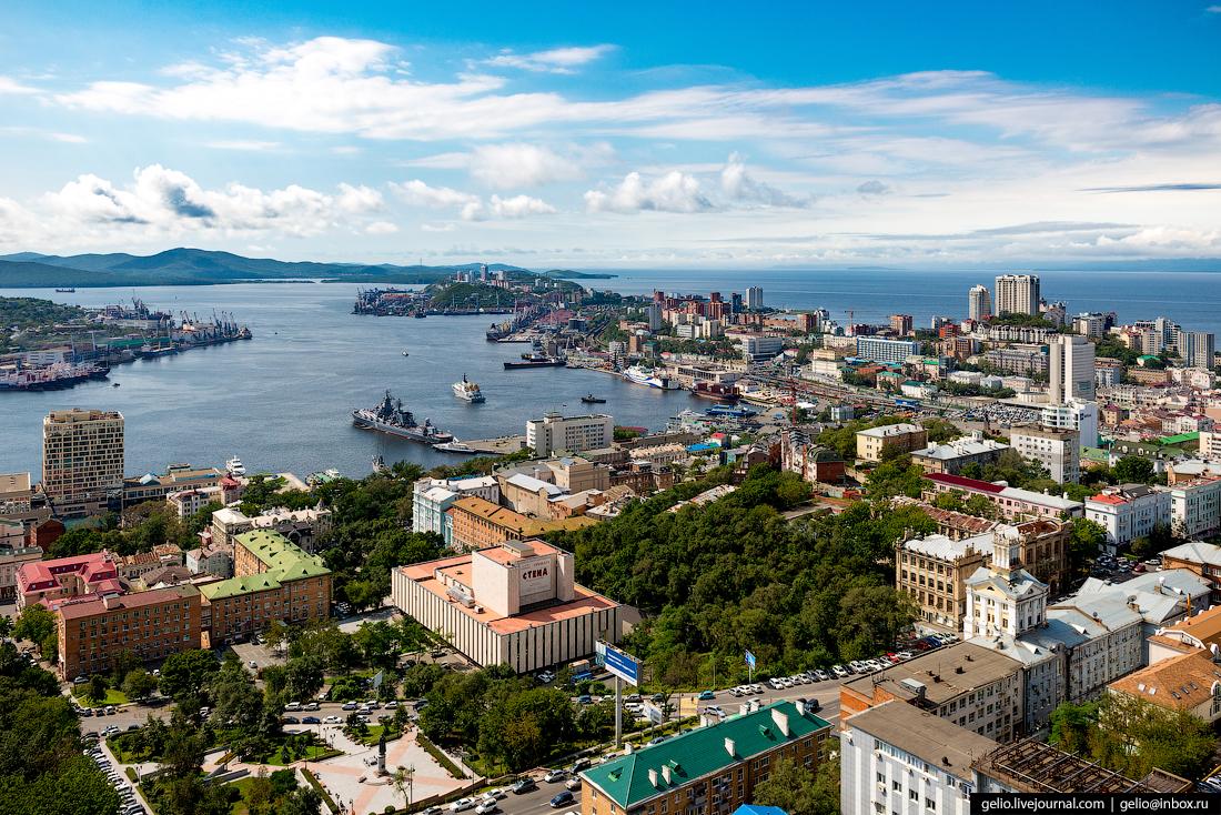 фотографии города владивостока весь город