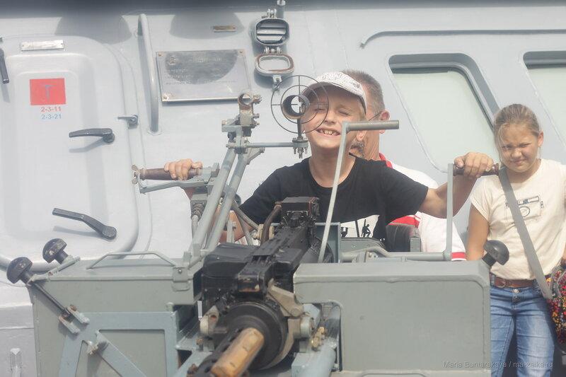 День военно-морского флота, Петропавловск-Камчатский, 30 июля 2017 года