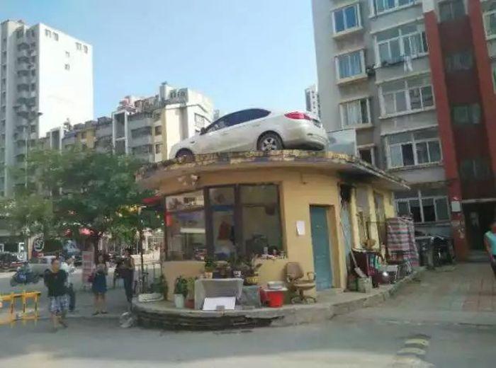 Месть за парковку 85го уровня