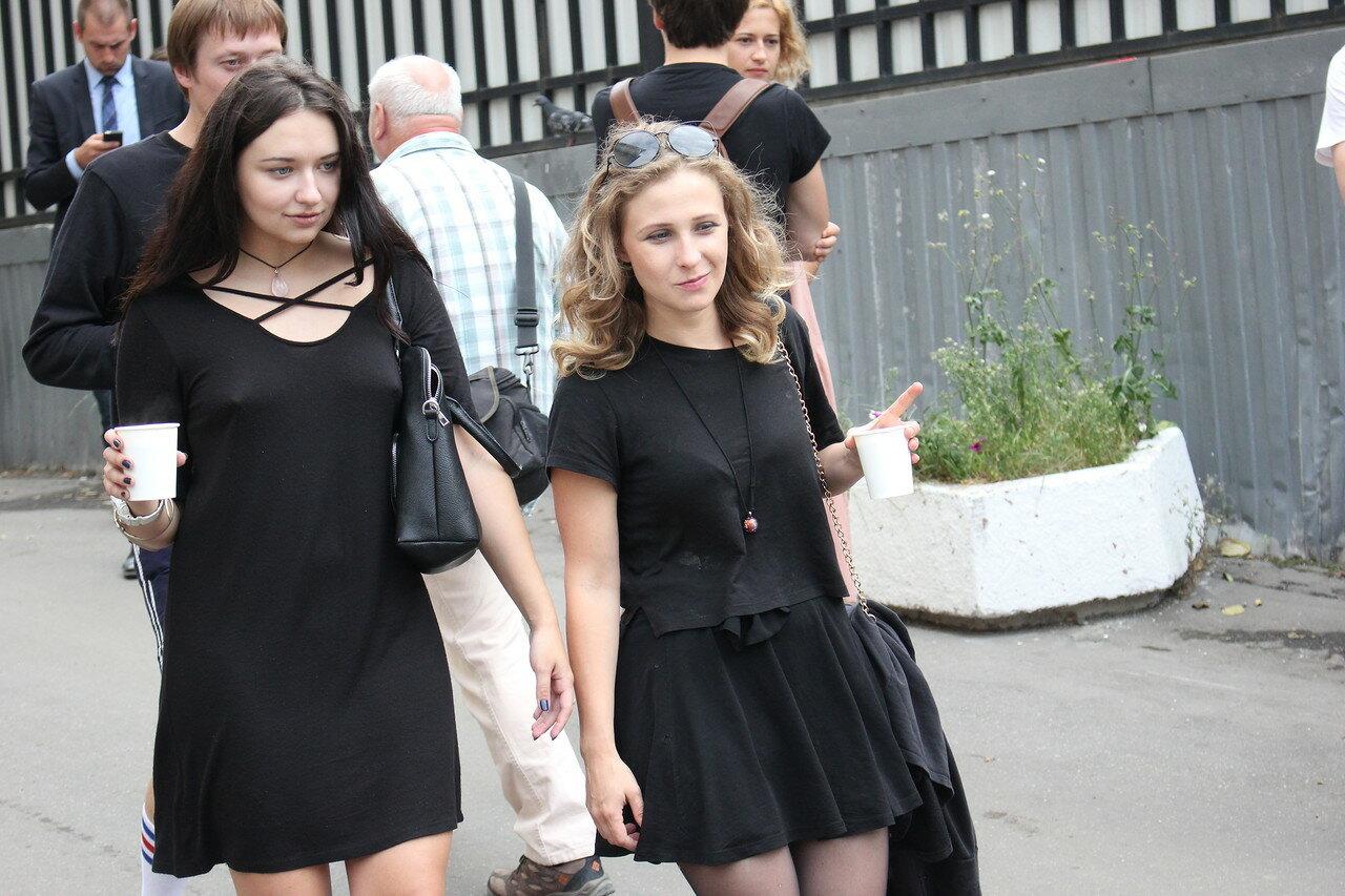Ольга Борисова и Мария Алехина