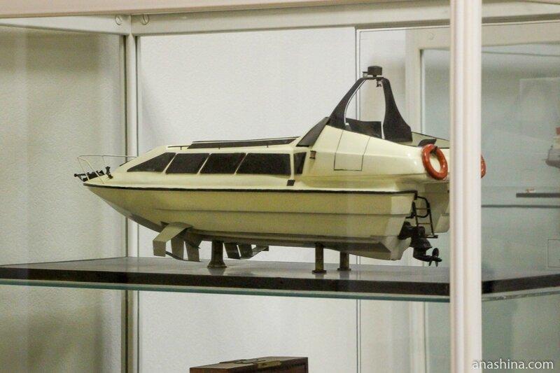 Катер на подводных крыльях, Музей промышленной истории Петрозаводска