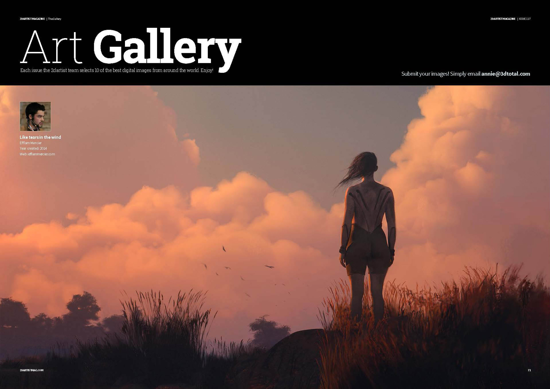 2DArtist Magazine – Issue 117