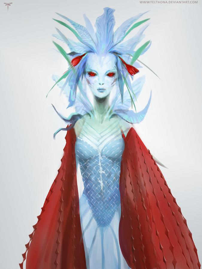 Dazzling Concept Art by Sandra Duchiewicz