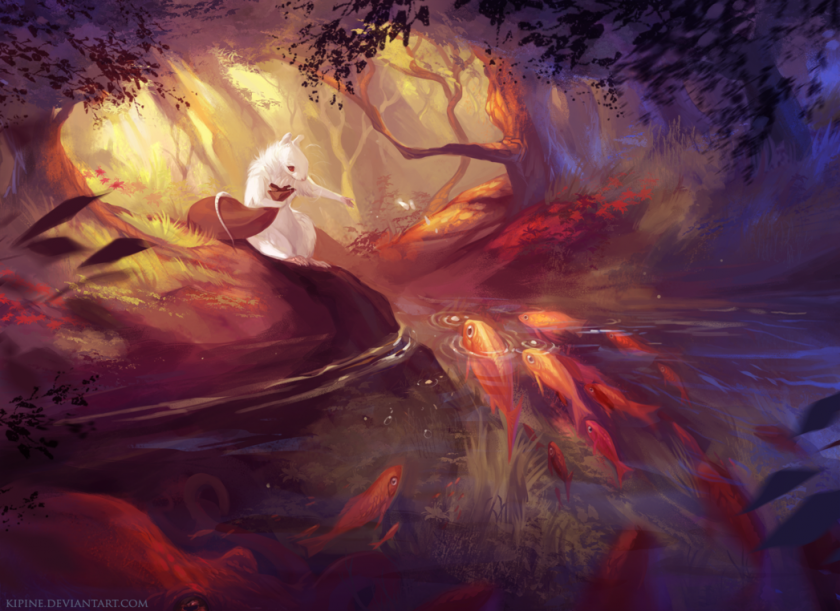 Fantasy Digital Artwork by Pauliina Linjama