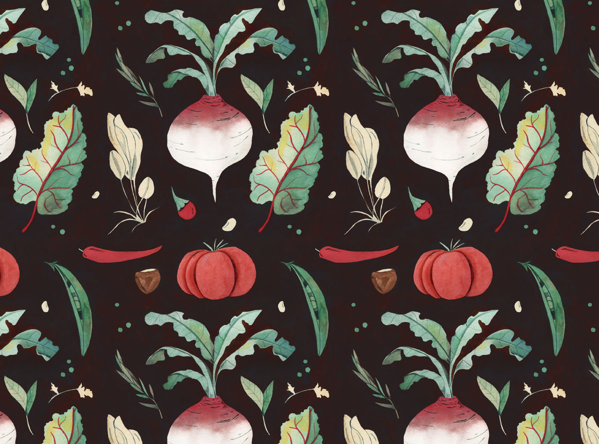 Botanical Patterns by Luisa Rivera