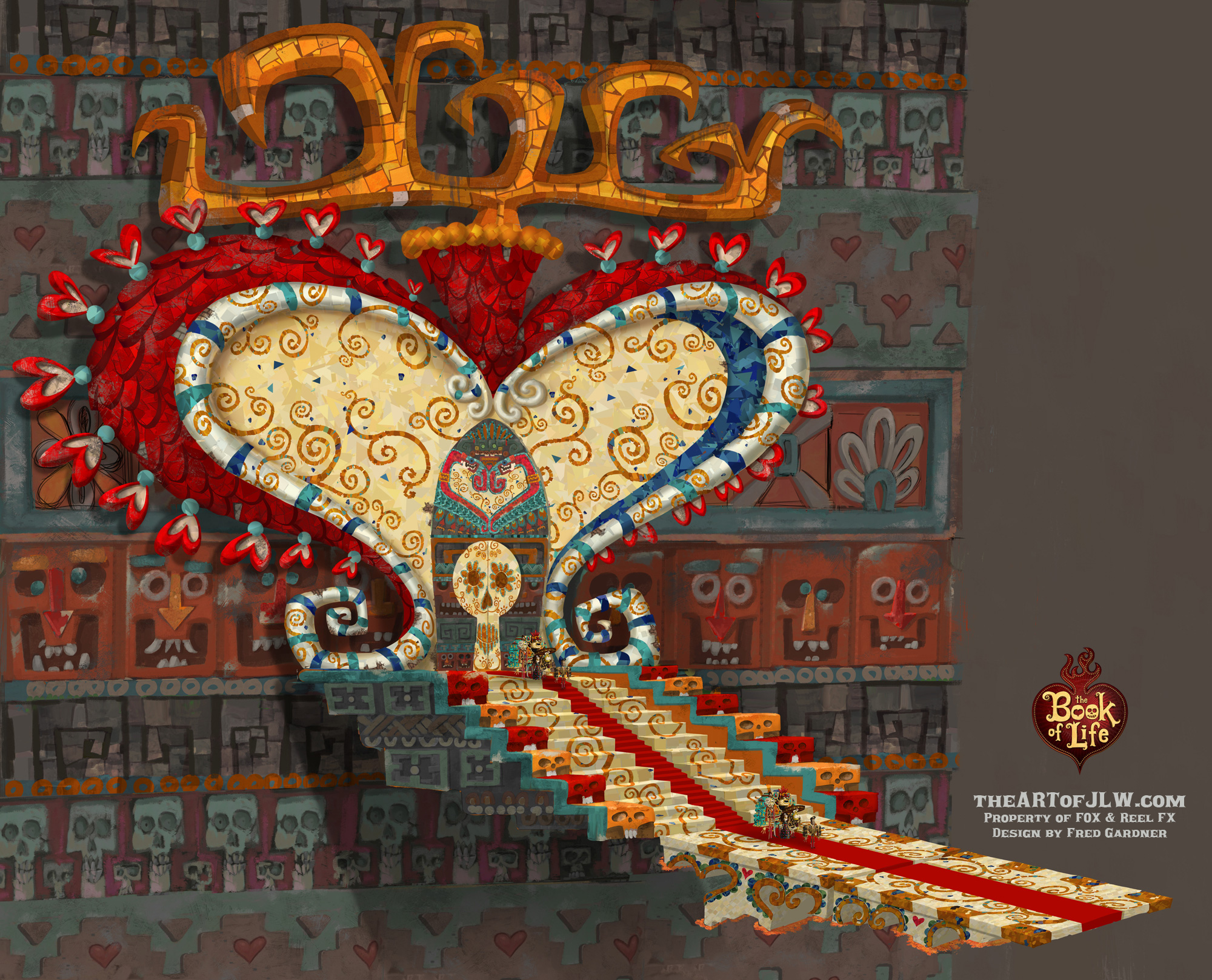 The Book of Life Concept Art by Jordan Lamarre-Wan