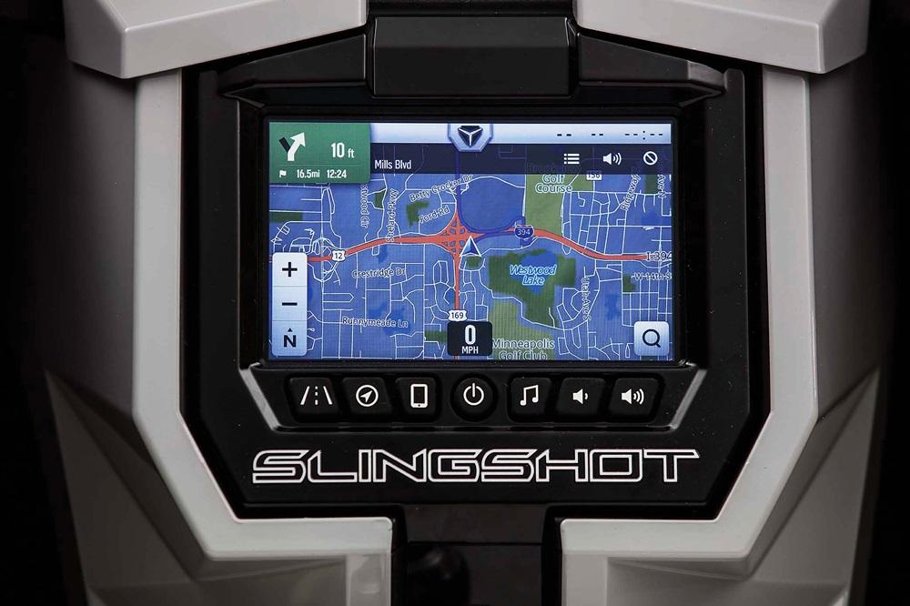 Модельный ряд Polaris Slingshot 2018