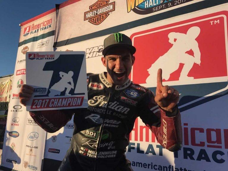 Джаред Мис выиграл чемпионат AMA Flat Track 2017