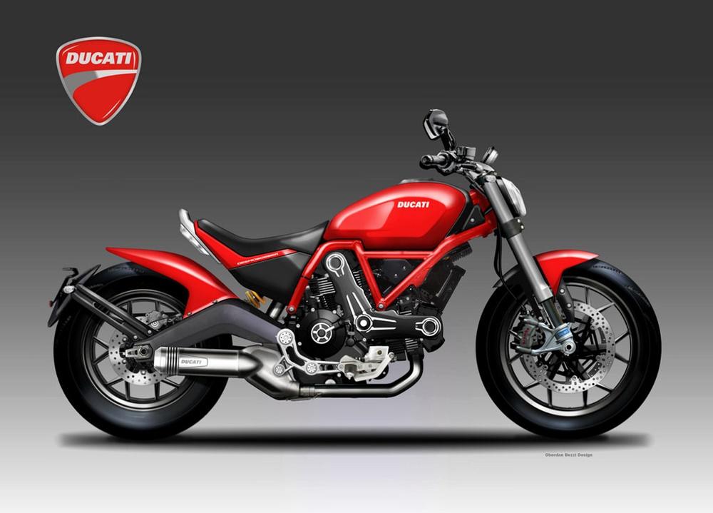 Обердэн Бецци: концепт Ducati Desmobobber
