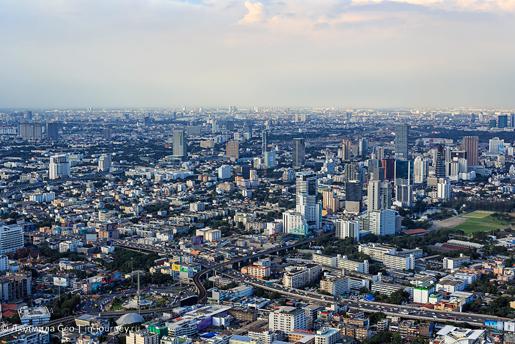 байок скай бангкок высота