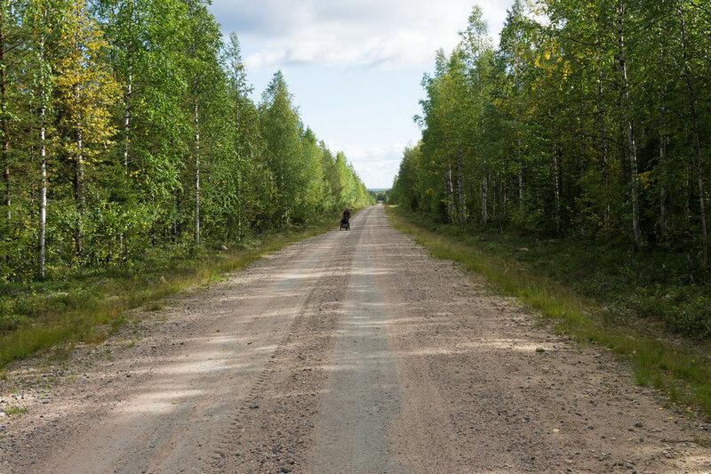 на велосипеде по Otusmaantie