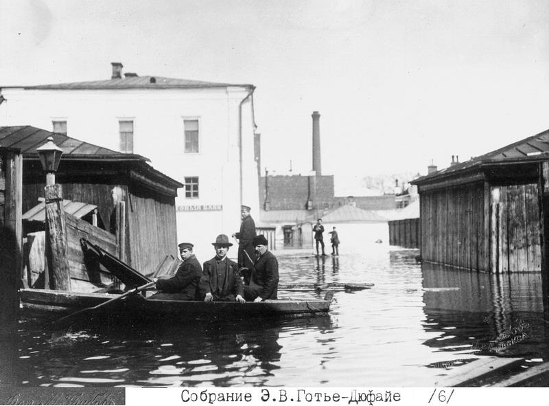 1035 Наводнение 1908 г на Волхонке.jpg