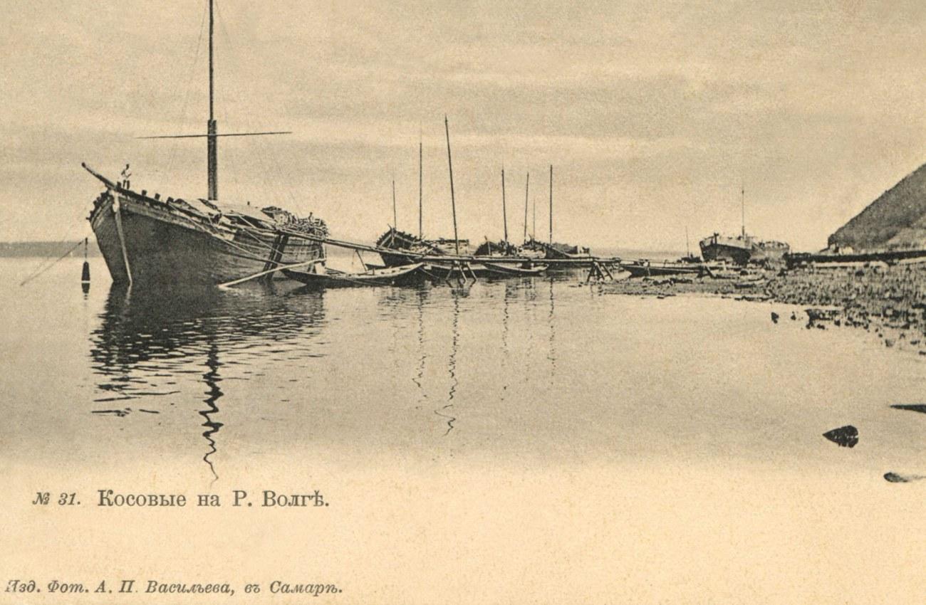 Окрестности Самары. Косовые на реке Волге