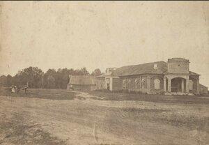 Манеж на Тюремной (Остожной) площади. 1900
