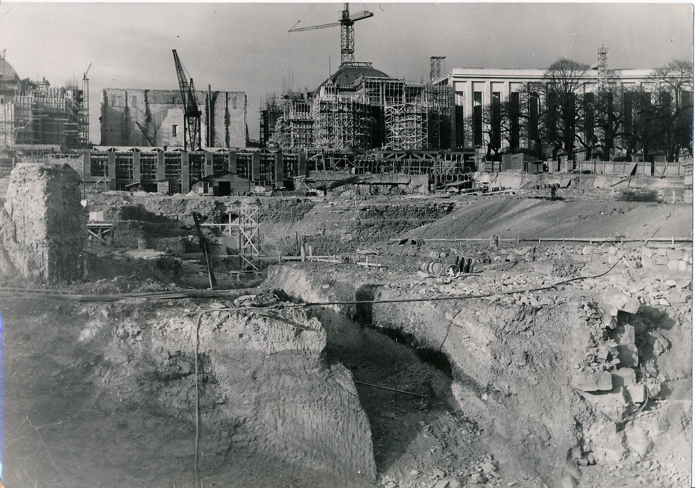 Строительство Дворца Шайо