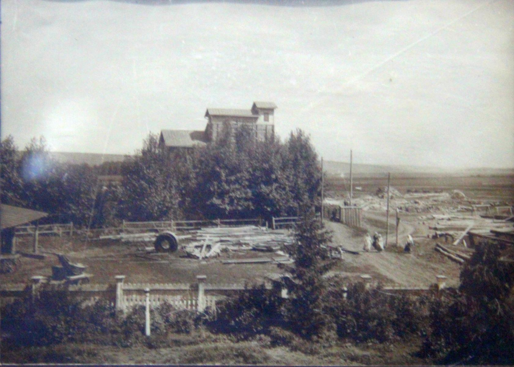 Окрестности Симбирска. Мельница Чебоксарова на реке Свияга