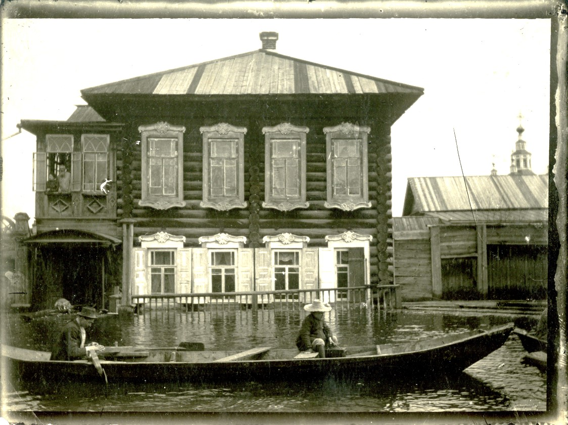Ручейная улица в половодье 1906