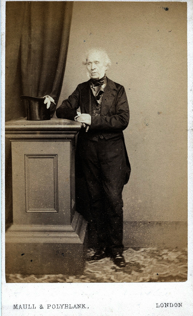 1860. Шотландский физик, сэр Дэвид Брюстер (1781-1868)