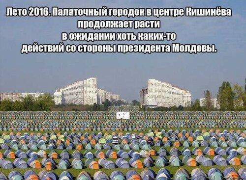Самые креативные видят происходящее в Молдове именно так