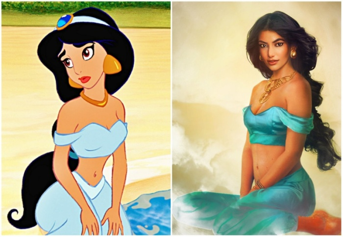 Какими бы были принцессы из диснеевских мультфильмов в реальной жизни