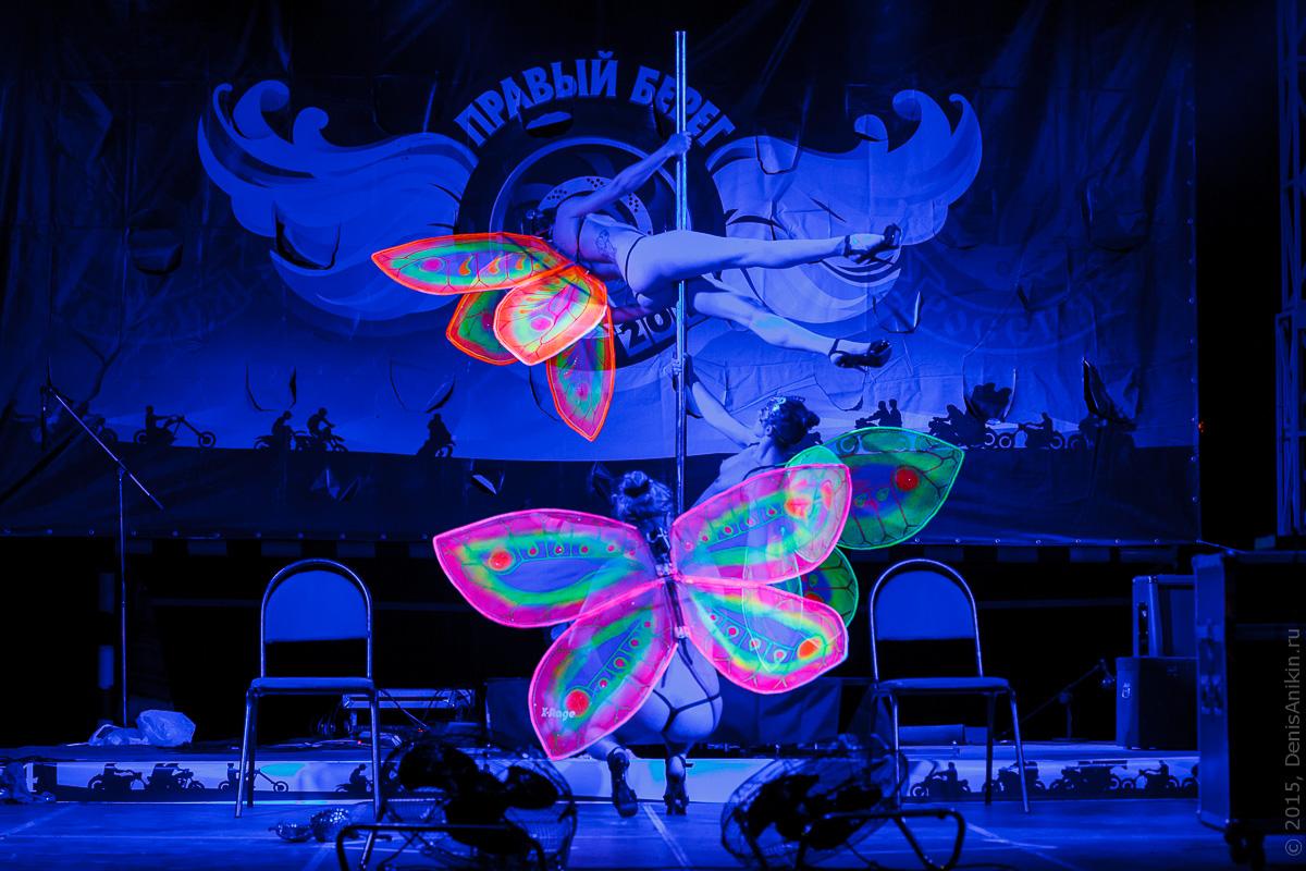 Мотофестиваль Правый Берег 2015 Velina-Dance Бабочки 18