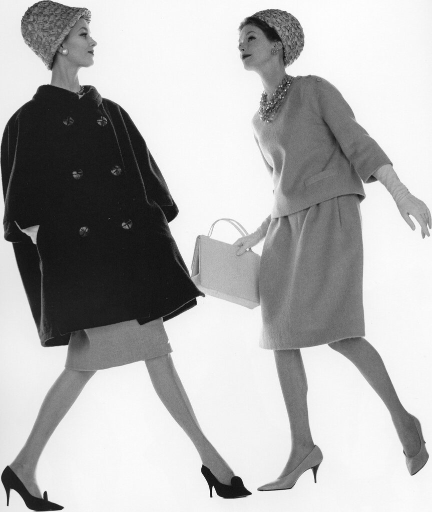 Jerry Schatzberg.Anna Carin  and Margaret Brown, Paris 1960