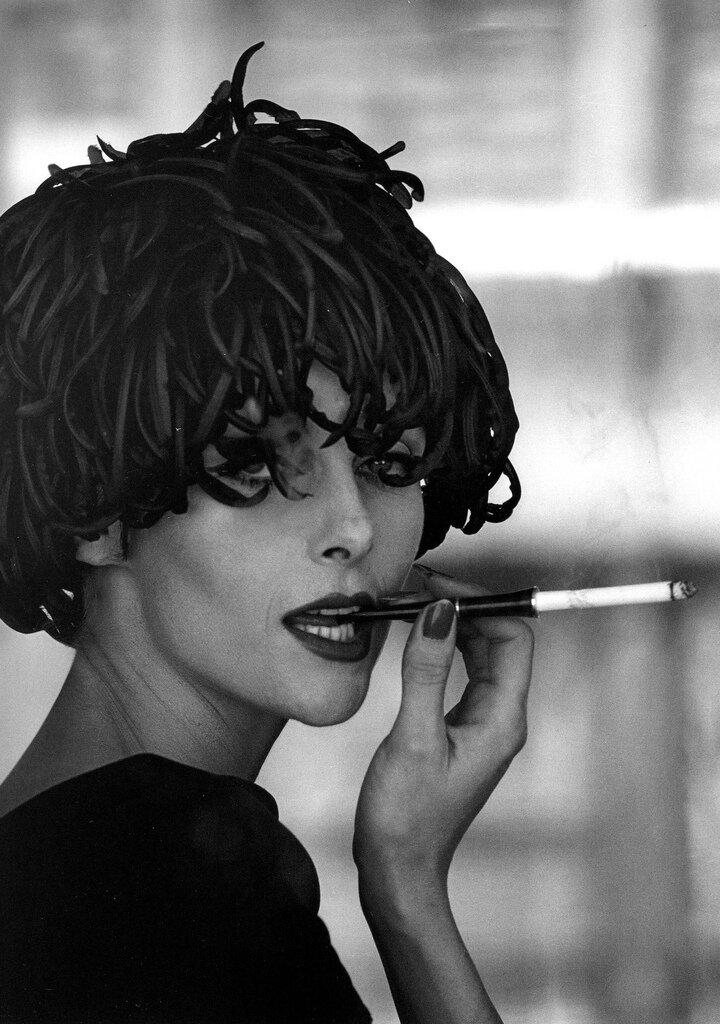 Jerry Schatzberg.Anne St. Marie, New York 1958