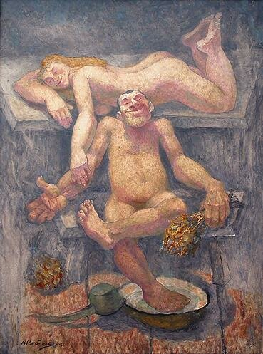 Шибанов. Русская баня. 2007 г.