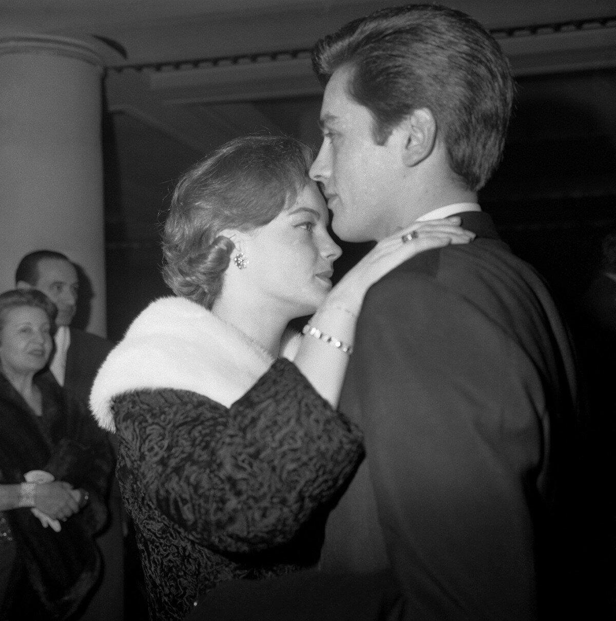 1961. С Роми