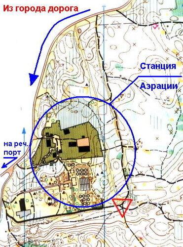 карта соревнований