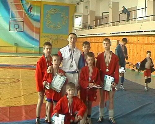 Дальневосточный юношеский турнир по самбо г.Большой Камень
