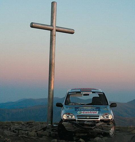 Крутой въезд на Chevy Niva