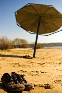 Не законченость лето, свет, небо, волга, река, пляж