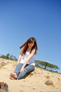 :-P , Лена, девушка, пляж, портрет