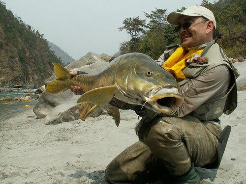 Рыбалка в Непале