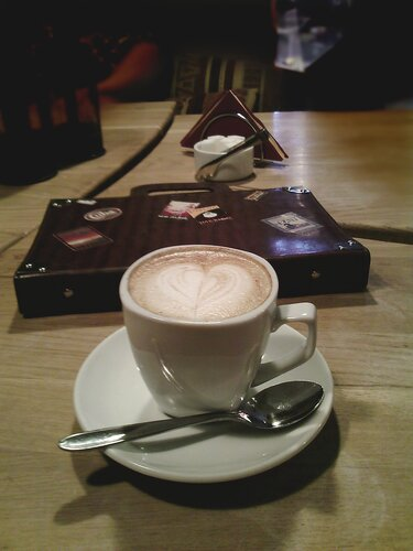 Чашка кофе и в путь!