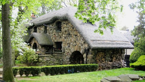 Gingerbread House, Black Forest Art Nouveau