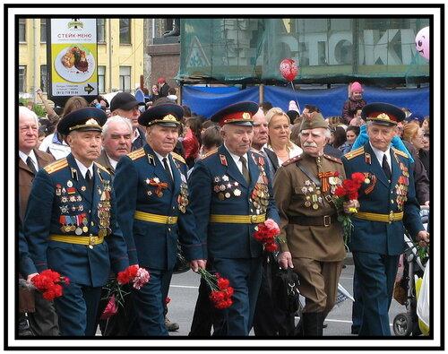 парад ветеранов фото
