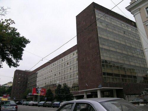 Мумии в здании Росстата