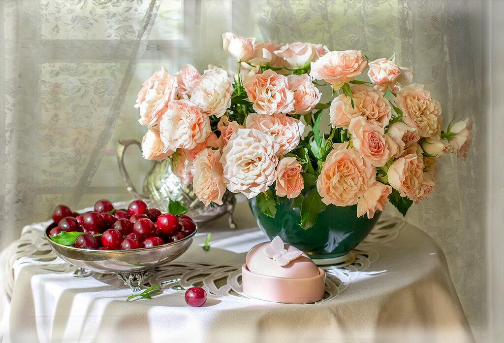 Так хочется цветов среди зимы
