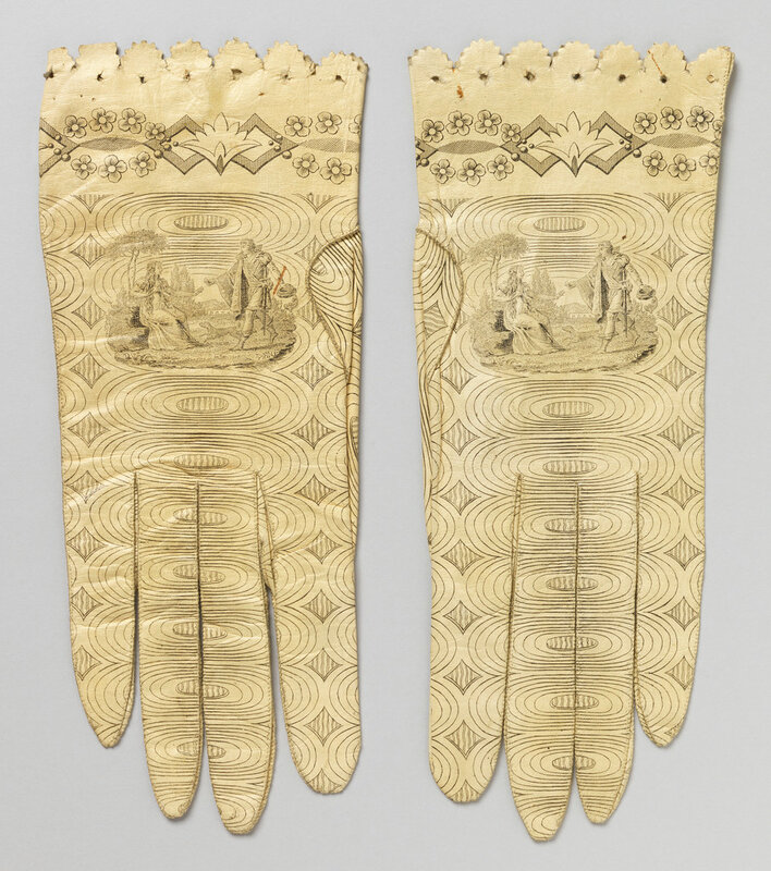 Womens Gloves, 1941-86-4-a,b, 18001820