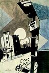 Иван Пуни «Улица» 1919 г.