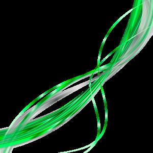 зеленые линии