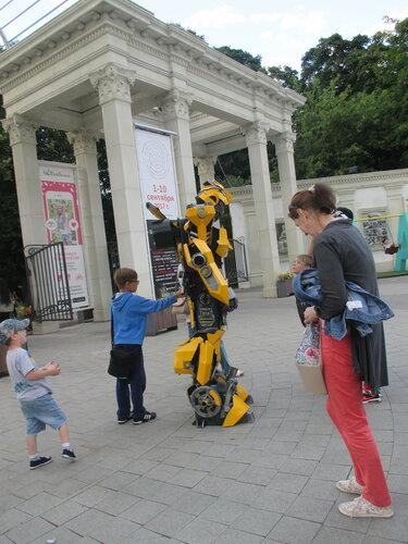 Робот в Сокольниках