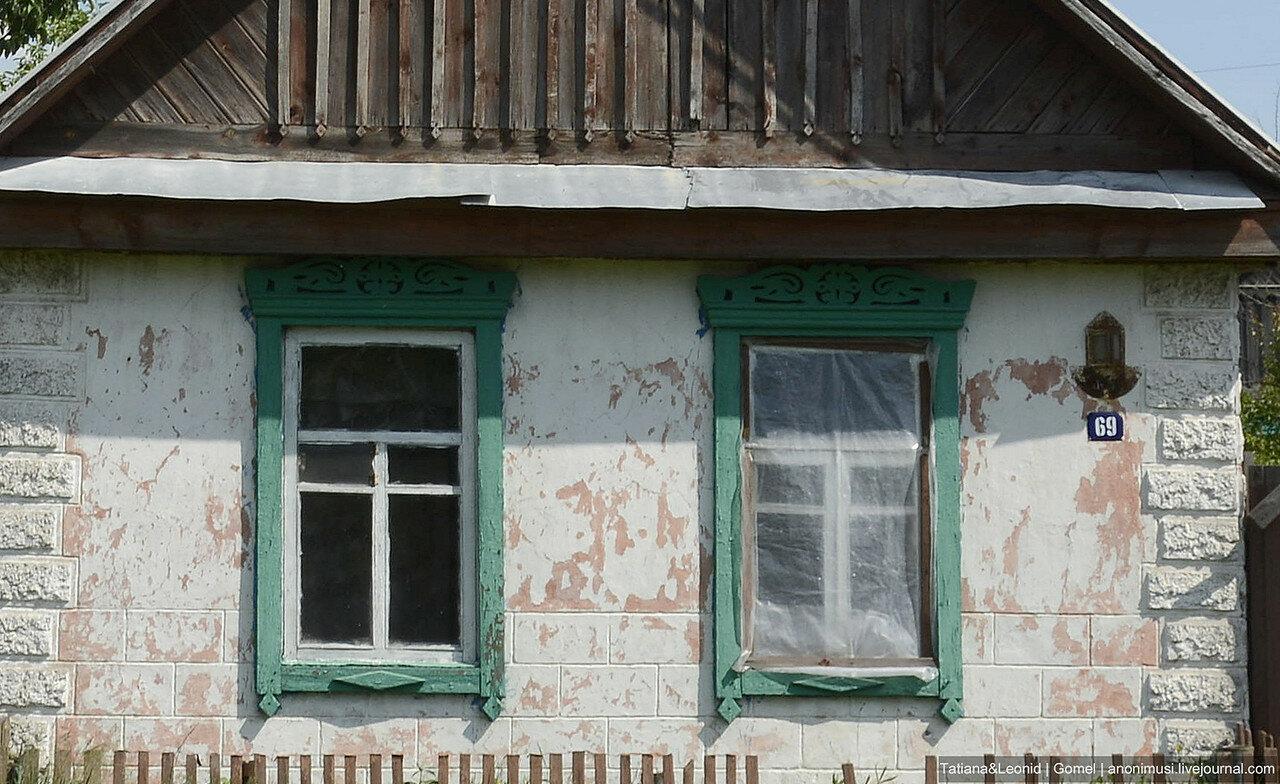 Деревенские окна