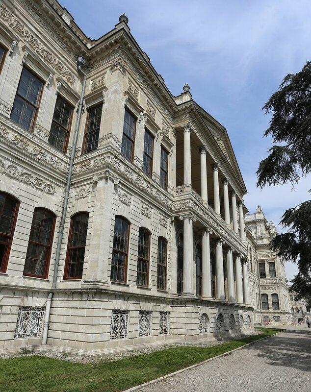 Istanbul, Dolmabahce Palace. Selamlik
