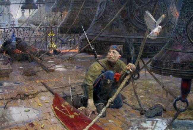 Павел Рыженко.  Удар в колокол