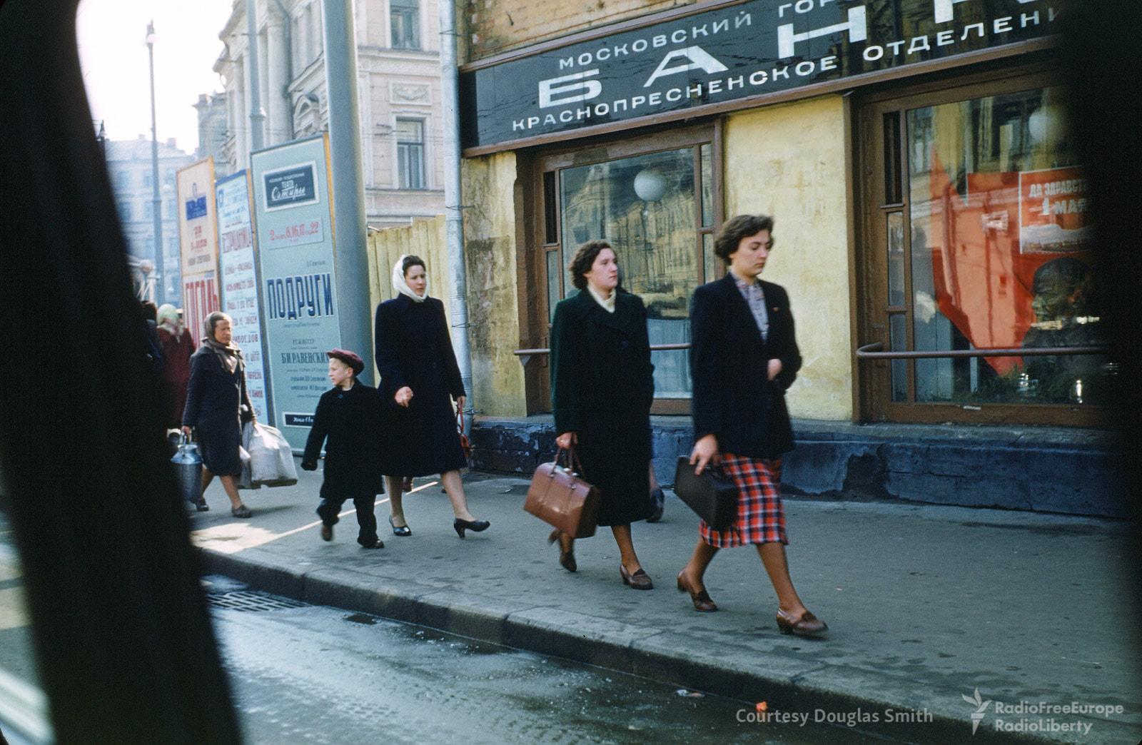 Улица в центре Москвы.
