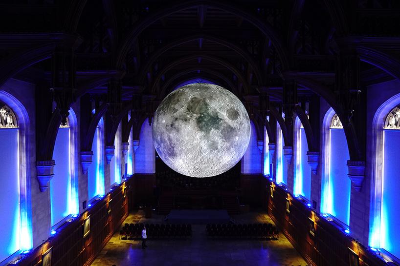 Точная копия луны размером семь метров